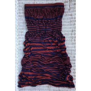 Dresses & Skirts - 🆕NWT {LOFT} Striped Strapless Maxi Dress